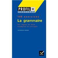 Profil Pratique - La grammaire