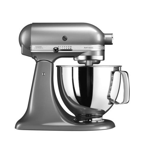 Robot pâtissier KitchenAid Artisan 5KSM125ECU 300 W Gris Argent
