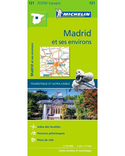 Carte Madrid et ses environs Michelin