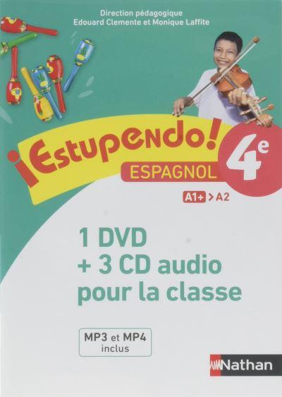 Estupendo 4è Coffret CD + DVD Classe 2017
