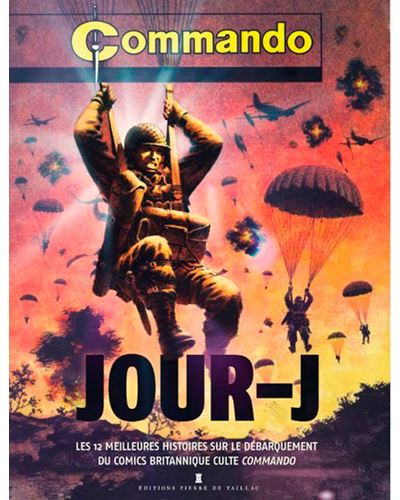 Jour-J, les 12 meilleures histoires sur le débarquement du comics britannique culte Commando