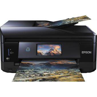 Epson XP-830 Multifunctionele Printer Ethernet Zwart