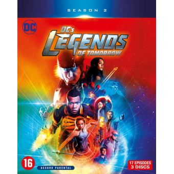 DC's Legends of TomorrowDC S legends of tomorrowS2-BIL-BLURAY