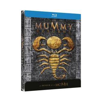 MummyLe retour de la Momie Steelbook Blu-ray