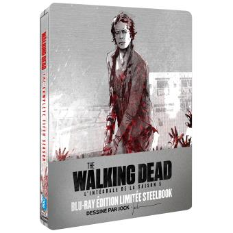 The Walking DeadThe Walking Dead Saison 5 Edition limitée Steelbook Blu-ray