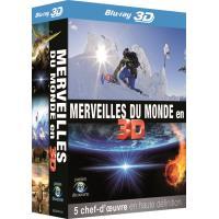 Merveilles du monde en 3D Blu-ray 3D