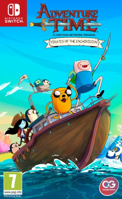 Adventure Time Les Pirates de la Terre de OOO Nintendo Switch