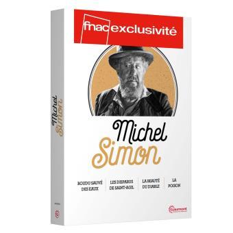 Coffret Michel Simon 2016 4 films Edition spéciale Fnac DVD