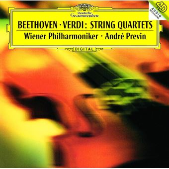 Beethoven Verdi String Quartets