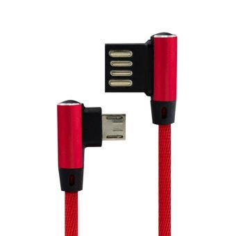 B2B Cable Nylon Elegance Micro-USB Red