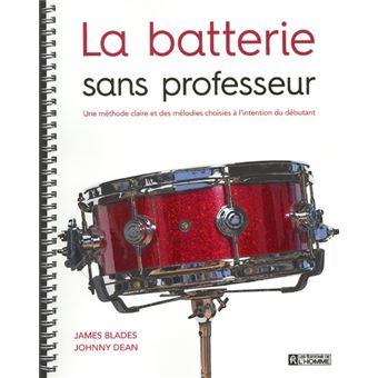 La batterie sans professeur