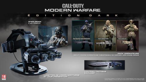 Call of Duty Modern Warfare Edition Dark PS4