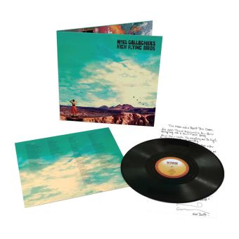 Who Built The Moon Vinyle 180 gr Gatefold Inclus un titre bonus et un coupon MP3