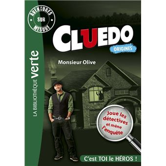 CluedoAventures sur Mesure Cluedo 03 - Monsieur Olive
