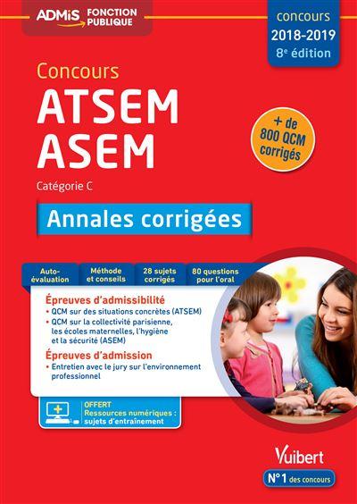 Concours ATSEM et ASEM, Catégorie C