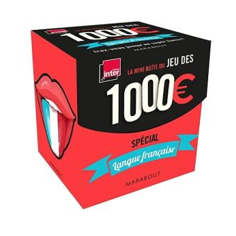 La mini-boîte 1000 euros : Langue française