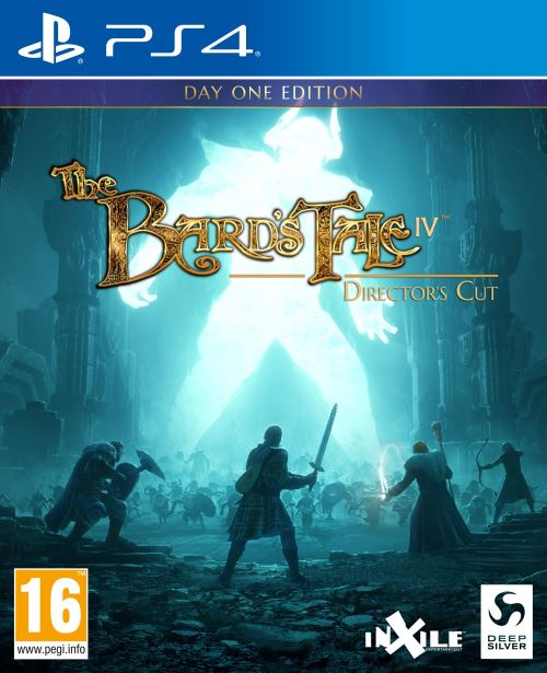 The Bard's Tale IV Barrows Deep Director's Cut Edition Day One PS4
