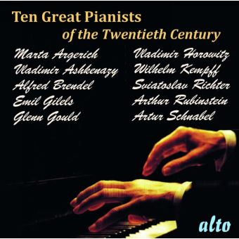 Dix grands pianistes du 20e siècle