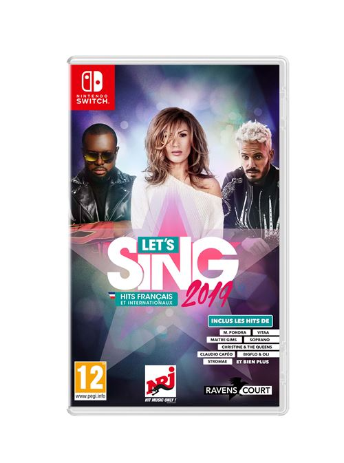 Let's Sing 2019 Hits français et internationaux Nintendo Switch