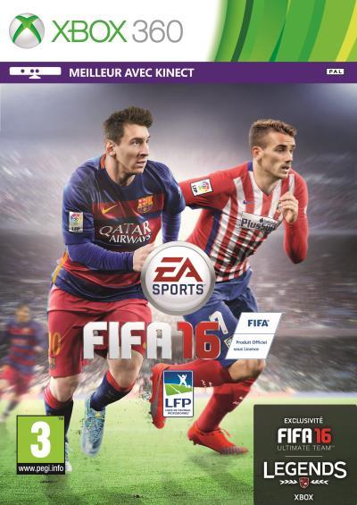 FIFA 16 Xbox 360