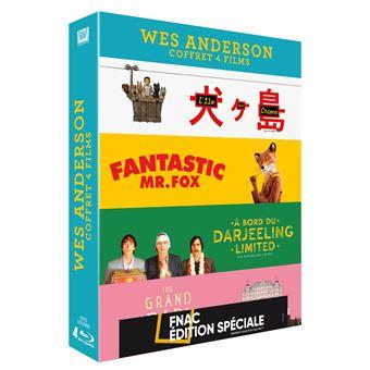 Coffret Anderson 4 films Edition Fnac Blu-ray