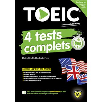 TOEIC : 4 tests complets