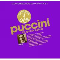 La discothèque idéale de Diapason, Volume 10, Puccini : Les grands opéras Coffret