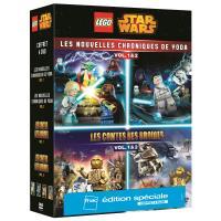 Lego Star Wars Les Nouvelles Chroniques de Yoda Volumes 1 et 2 Edition spéciale Fnac DVD