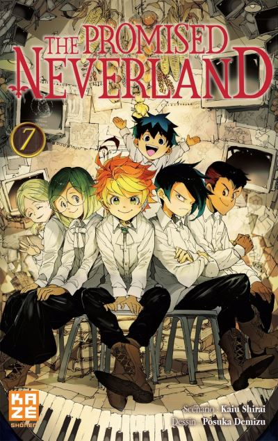 The Promised Neverland T07 - 9782820337214 - 4,99 €