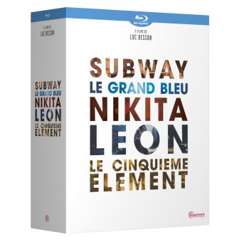 Coffret Besson 5 films Blu-ray