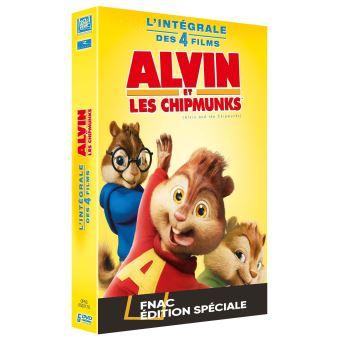Alvin et les ChipmunksCoffret Alvin et les Chipmunks L'intégrale Edition spéciale Fnac DVD