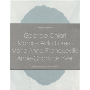 Cahier de residence,4 + 4 cd audio
