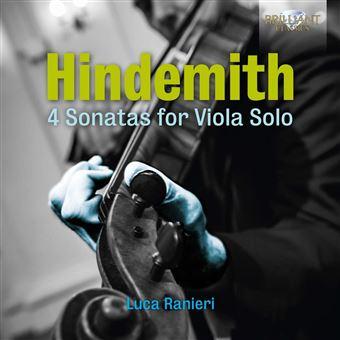 Quatre sonates pour alto seul