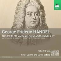 """Händel : Intégrale des Arias """"Amen, Alléluia"""" HWV 269-277"""