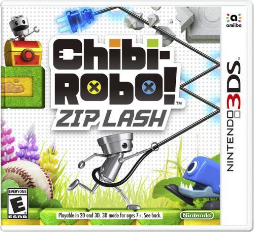 Chibi Robo Zip Lash 3DS - Nintendo 3DS