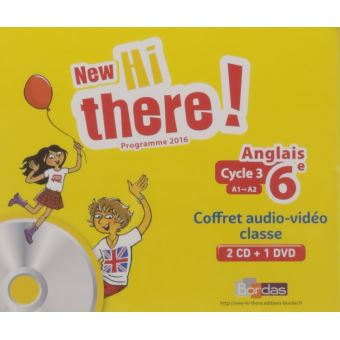 New Hi There Anglais 6e 2017 Materiel Audio Video Collectif