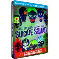 Suicide Squad Edition Spéciale Fnac Steelbook Blu-Ray 3D + 2D + DVD