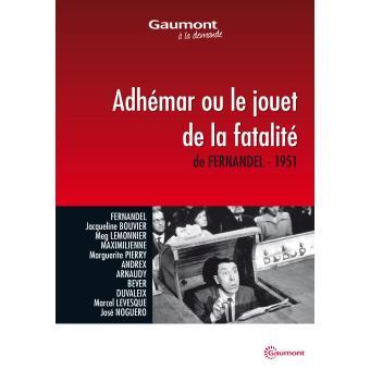 ADHEMAR OU LE JOUET DE LA FATALITE-FR