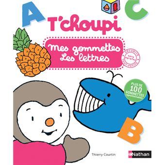 T'choupiT'choupi : Mes gommettes les Lettres