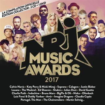 NRJ MUSIC AWARDS 2017/3CD+DVD