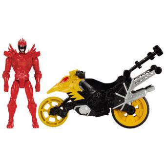 dino moto power rangers dino super charge figurine ranger rouge 12cm autre figurine ou. Black Bedroom Furniture Sets. Home Design Ideas