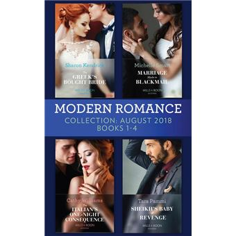 Modern Romance August 2018 Books 1-4 Collection: The Greek's Bought