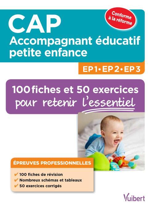 CAP accompagnant éducatif petite enfance EP1, EP2 et EP3