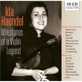 MILESTONES OF A VIOLIN LEGEND/10CD
