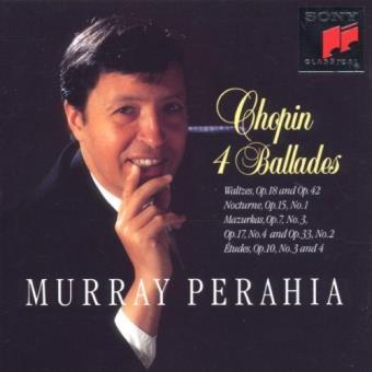 Ballades N°1, opus 23 et N°2, opus 38 - Etudes - Mazurkas
