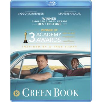 GREEN BOOK -BIL-BLURAY