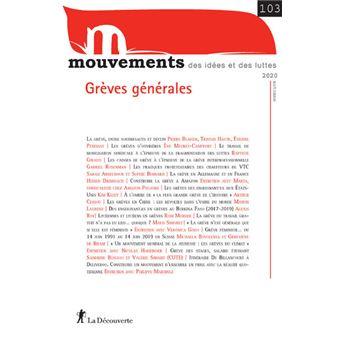 Revue Mouvements numéro 103 Grèves générales