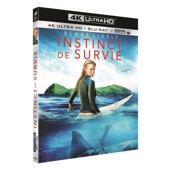 Instinct de survie Blu-ray 4K Ultra HD