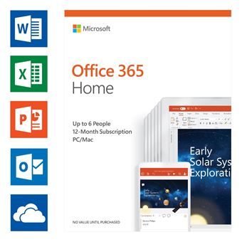 Microsoft Office 365 Home UK (6 users)
