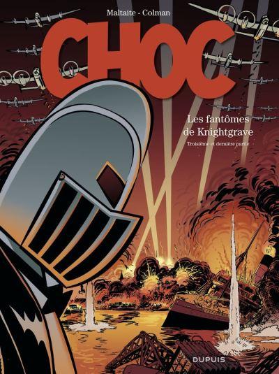 Choc - tome 3 - Les Fantômes de Knightgrave (troisième partie) - 9791034742417 - 9,99 €